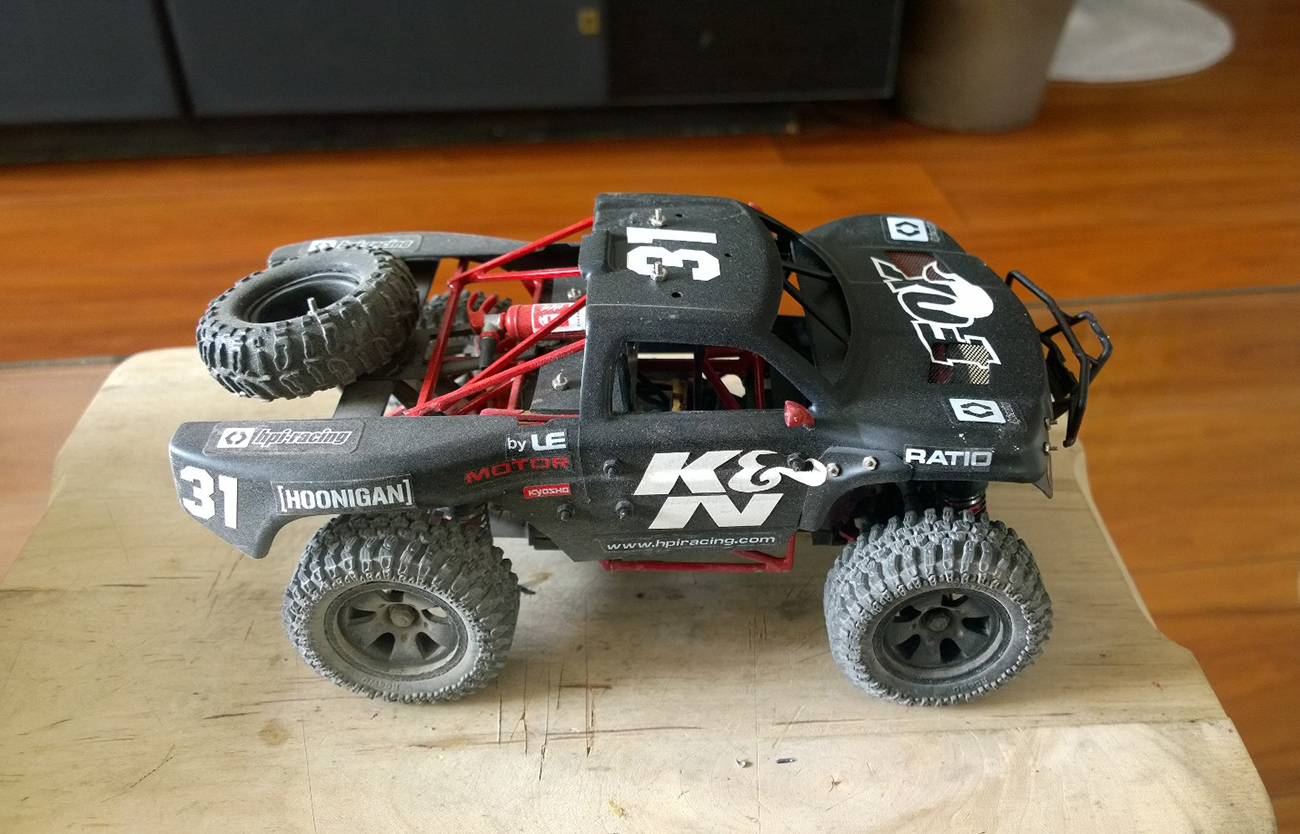 Mini Trophy Truck 1/24 20